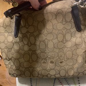 Coach Other - Coach Kelsey purse with signature design